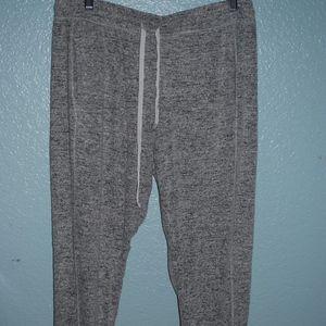 Gray pajama pants